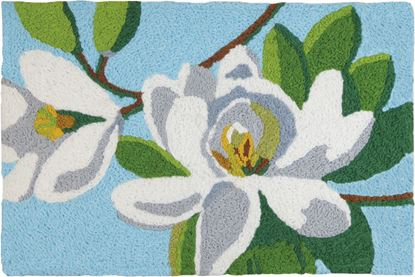 Jellybean Magnolia Time Garden Decor 21 x 33 in Washable Accent Rug