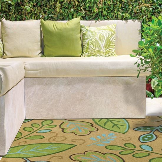 """Picture of Green Leaves 58"""" X 78"""""""