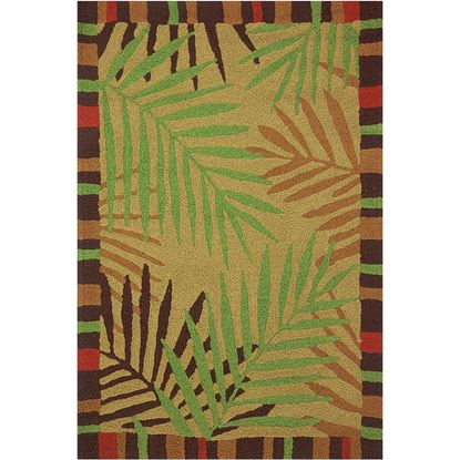 """Picture of TROPICAL LEAVES 58"""" X 78"""""""