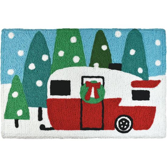 Holiday Camping Jellybean Holiday Accent Rug