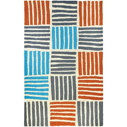 """Picture of Main Street Stripes 58"""" X 78"""""""