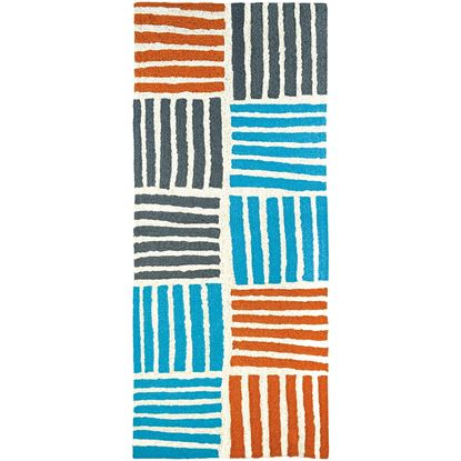 """Picture of Main Street Stripes 21"""" X 54"""""""