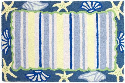 Picture of Shells & Stripes w/Memory Foam