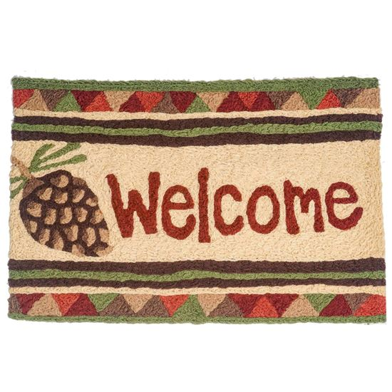 Picture of Pine Cone Welcome